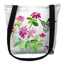 Ruby Throat Hummingbird Tote Bag | Betsy Drake | TY1008M