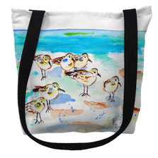 Seven Sanderlings Tote Bag | Betsy Drake | TY1089M