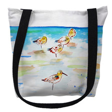 Five Sanderlings Tote Bag | Betsy Drake | TY1090M