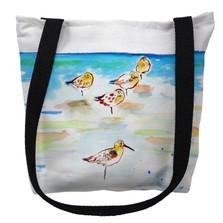 Five Sanderlings Tote Bag | Betsy Drake | TY1090M