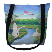Marsh Birds Tote Bag | Betsy Drake | TY1105M