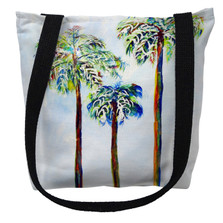 Three Palms Tote Bag   Betsy Drake   TY1106M