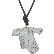 Snowy Owl Sculptural Pendant Necklace | Cavin Richie Jewelry | KB-56-PEND