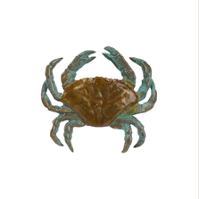 Dungeness Crab Sculptural Pin | Cavin Richie Jewelry | KB-180-PIN