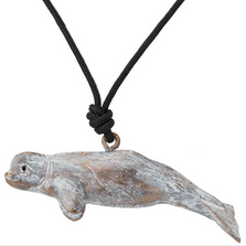 Beluga Whale Pendant Necklace | Cavin Richie Jewelry | KB-19-PEND