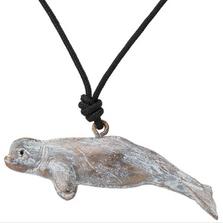 Beluga Whale Pendant Necklace | Cavin Richie Jewelry | KB-19-PEND