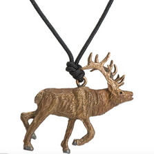 Elk Pendant Necklace | Cavin Richie Jewelry | KB-295-PEND