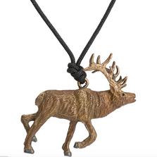 Elk Pendant Necklace | Cavin Richie Jewelry | KB-295-PEND