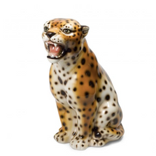 Leopard Ceramic Sculpture | Intrada Italy | ANI2326
