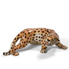 Cheetah Alert Ceramic Sculpture   Intrada Italy   ANI1276