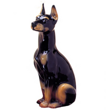 Doberman Dog Ceramic Sculpture | Intrada Italy | ANI9510