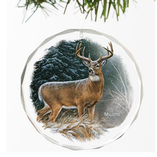 Deer Crystal Ornament | In the Storm | Wild Wings