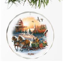 Horse Crystal Ornament | Pleasures of Winter | Wild Wings