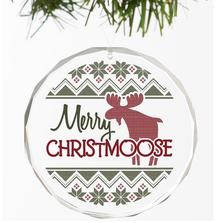 Moose Crystal Ornament | Merry Christmoose | Wild Wings