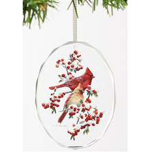 Cardinal Crystal Ornament | Winter Jewels | Wild Wings