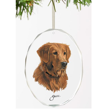 Golden Retriever Crystal Ornament | Loyal Companion | Wild Wings