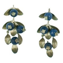 Blueberry Drop Earrings | Michael Michaud Jewelry | SS4383BZBC -2