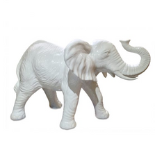 White Elephant Ceramic Sculpture | Intrada Italy | ANI1277