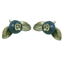 Blueberry Pierced Earrings | Michael Michaud Jewelry | SS4387bzbc