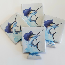 Marlin Koozie Set of 4 | Marlin Coozie | BW4509