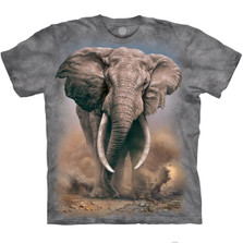 African Elephant Unisex Cotton T-Shirt | The Mountain | 105959 | African Elephant T-Shirt