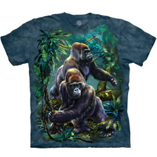 Gorilla Jungle Unisex Cotton T-Shirt | The Mountain | 105912 | Gorilla T-Shirt