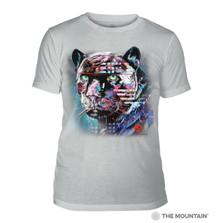 Painted Jaguar Grey Unisex Tri-Blend T-Shirt | The Mountain | 5463240748 | Jaguar T-Shirt
