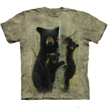 Mama Bear Unisex Cotton T-Shirt | The Mountain | 106391 | Bear T-Shirt