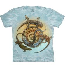 Lizard Mimbre Journey Unisex Cotton T-Shirt | The Mountain | 105946 | Lizard T-Shirt