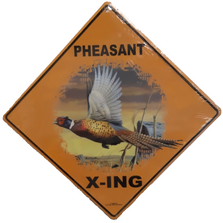 Pheasant Barn Metal Crossing Sign | Pheasant Barn X-ing Sign | MXSHB1026