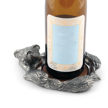 Bear Pewter Wine Bottle Coaster | Vagabond House | B133R