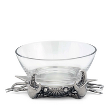 Peeping Blue Crab Dip Bowl | Vagabond House | O180CR