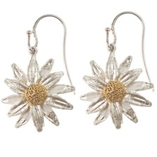 Daisy Drop Wire Earrings | Michael Michaud Jewelry | SS4582bz