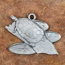Amazon Turtle Pewter Ornament | Andy Schumann | SCHAMTURTLEORN