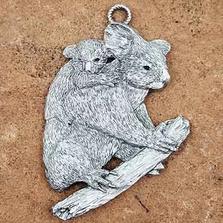 Koala Pewter Ornament | Andy Schumann | SCHKOALAORN