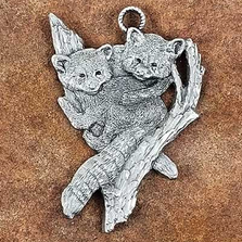 Red Panda Pewter Ornament | Andy Schumann | SCHREDPANDORN