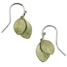 Irish Thorn Double Leaf Earrings | Michael Michaud Jewelry | SS4586bz -2