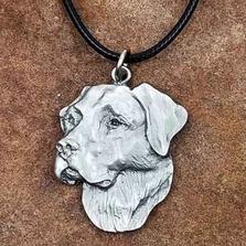 Labrador Retriever Pendant Necklace   Andy Schumann   SCHLABPEND