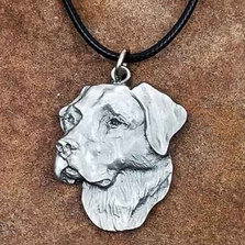 Labrador Retriever Pendant Necklace | Andy Schumann | SCHLABPEND