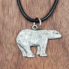 Polar Bear Pendant Necklace | Andy Schumann | SCHPOLARPEND