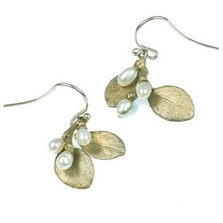 Irish Thorn Double Drop Earrings | Michael Michaud Jewelry | SS4590bzwp -2