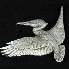 Pelican Pewter Pin | Andy Schumann | SCHPELIPIN