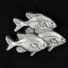 Fish Pewter Pin | Andy Schumann | SCHFISHPIN