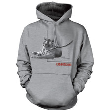 Tiger End Poaching Unisex Hoodie | The Mountain | 725572 | Tiger Sweatshirt