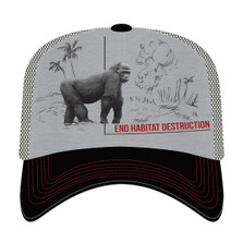 Gorilla Habitat Trucker Hat | The Mountain | 765578 | Gorilla Hat