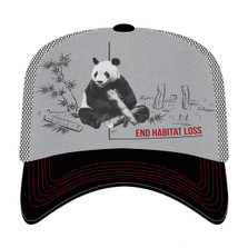Panda Habitat Trucker Hat | The Mountain | 765579 | Panda Hat