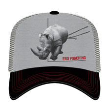 Rhino End Poaching Trucker Hat | The Mountain | 765575 | Rhino Hat