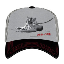 Tiger End Poaching Trucker Hat | The Mountain | 765572 | Tiger Hat