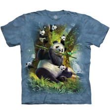 "Panda ""Pan Da Bear"" Unisex Cotton T-Shirt 