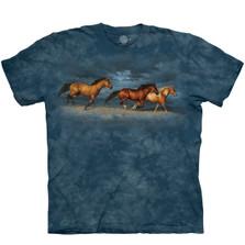 Thunder Ridge Horses Unisex Cotton T-Shirt | The Mountain | 106437 | Horse T-Shirt
